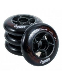 POWERSLIDE SPINNER 90/88A NEGRA (UNIDAD)