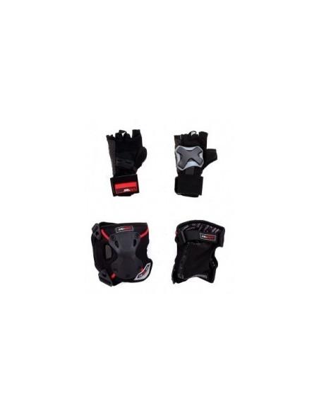 SEBA PROTECTIVE PACK PRO x3 (RODILLERAS, CODERAS Y GUANTE)